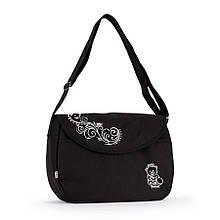 Эргономичная сумка длядетскойколяскиBaby Breeze 0355 с водоотталкивающей пропиткой черная