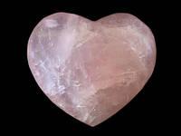 Фигурка Сердце из розового кварца