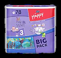 Підгузники  bella HAPPY midi 5-9 кг(78 шт)