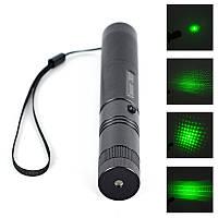 Лазерная указка Laser JD-303 500-1000 mW зеленый луч с ключом