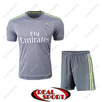 Футбольная форма ФК Реал Мадрид. Выездная форма 2016