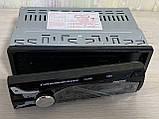 NEW 1DIN автомагнітола Pioneer 1188 ЗНІМНИЙ ЕКРАН, USB,SD,MP3,FM,Bluetooth (200W) блютуз знімна панель, фото 2