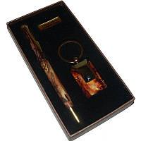 """Подарочный Набор 2в1 """"Nobilis"""", брелок + ручка"""