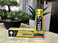 Клей герметик Zhanlida T7000 чёрный для Тачскринов, Дисплеев, Модулей 50ml