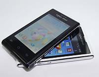 "Смартфон Sony Ericsson V1 Mini 3,5"" экран 2 Sim + стилус и чехол!"