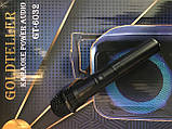 Автономна акустична система Goldteller GT-6032 з мікрофоном, фото 5