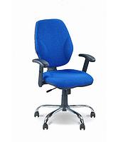 Компьтерное кресло для персонала МАСТЕР ГТР хром