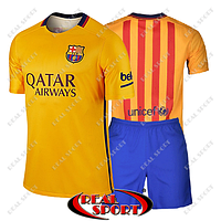 Футбольная форма ФК Барселона. Выездная форма 2016