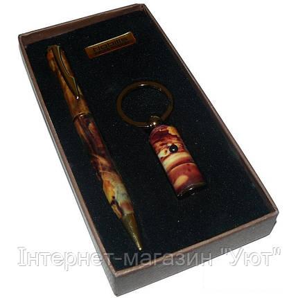 """Подарочный Набор 2в1 """"Nobilis"""", ручка + брелок, фото 2"""