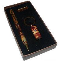"""Подарочный Набор 2в1 """"Nobilis"""", ручка + брелок"""