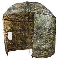 Зонт-палатка Carp Zoom Umbrella Shelter, Camou, 250cm камуфляжного цвета
