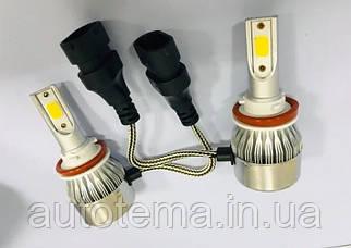 LED лампи C6 Комплект H8 H9 H11
