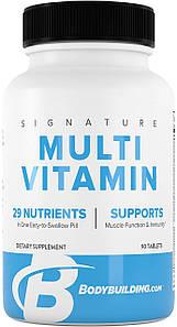 Мультивитамины Bodybuilding Signature Multi Vitamin 29 nutrients 90 таб.