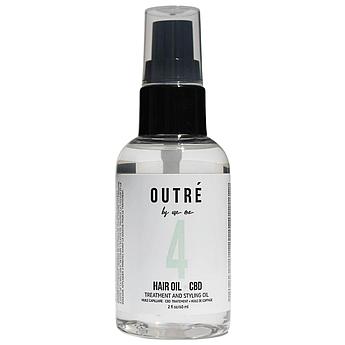 Масло для защиты и гладкости волос OUTRÉ CBD Anti-Stress Treatment & Styling Hair Oil 50 мл