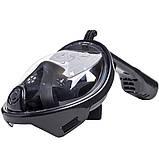 Инновационная маска для снорклинга подводного плавания с креплением для камеры F113, фото 2