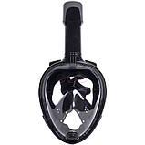 Инновационная маска для снорклинга подводного плавания с креплением для камеры F113, фото 3