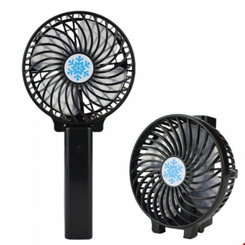 Мощный ручной вентилятор на подставке fan 2 (складная ручка) Разные Цвета