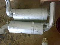 Глушитель ДТ-75 (А-41) с кронштейнами (41-30С2-1) 85.29.021-100