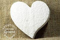 Сердце из пенопласта d-10см.