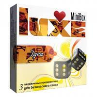 Презервативы Luxe Mini Box Игра