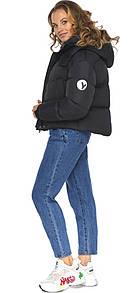 Куртка короткая черная женская модель 27450