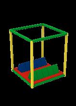 Секция с двумя треугольниками KIDIGO (61076)
