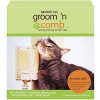 "SENTRY Groom""n Comb СЕНТРИ ГРУМ КОМБ угловая щетка для самогрумминга котов"