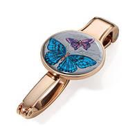 Держатель для сумки Troika Vintage butterflies, золотой