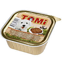 TOMi ИНДЕЙКА ПАСТА МОРКОВЬ (turkey, pasta, carrots) консервы корм для собак, паштет, 150гр