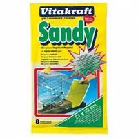 Vitakraft SANDY Подстилка в клетку для птиц, 21*32 см. (8 шт.)