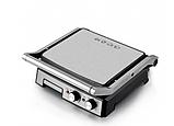 Притискної контактний настільний електричний гриль Haeger HG-2681, кухонний побутової гриль барбекю, фото 6
