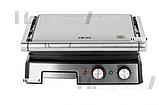 Притискної контактний настільний електричний гриль Haeger HG-2681, кухонний побутової гриль барбекю, фото 7