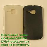 Alcatel OT991, белый_силиконовый чохол, фото 7