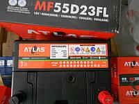 Аккумулятор ATLAS 6CT-60 А (0) JIS Asia MF55D23FL