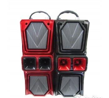 Портативная акустическая система Мощная Активная JBK-8813 с радио FМ