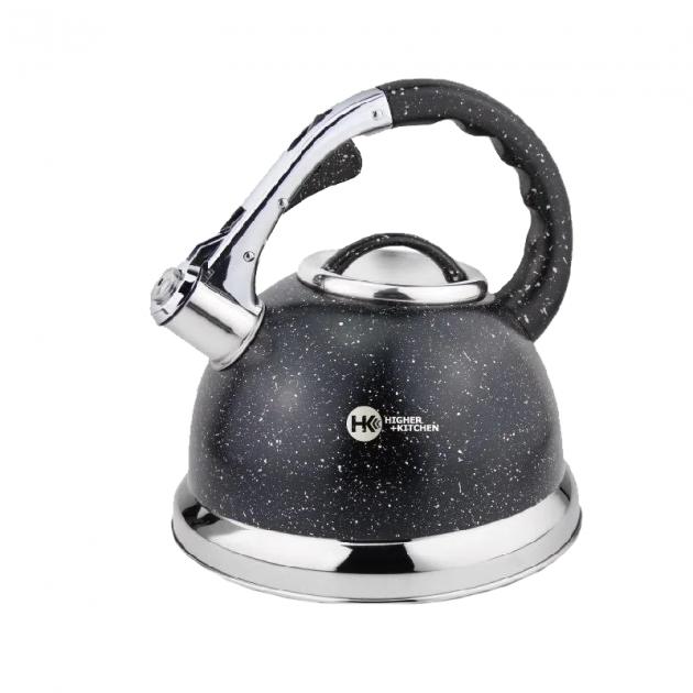 Чайник зі свистком гранітний HIGHER+KITCHEN ZP-021 3.5 л