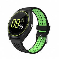 Умные Часы Smart V9 С Пульсометром Green