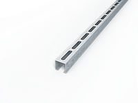 Траверса монтажная из оцинкованной стали для  монтажа инженерных систем, крепления систем вентиляции Т30/1,4мм