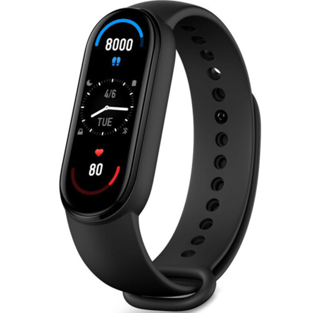 Смарт-часы и фитнес браслеты Xiaomi Mi Band 6 NFC mastercard Украина Оригинал! Умные Android Bluetooth Пылевлагозащищенный корпус