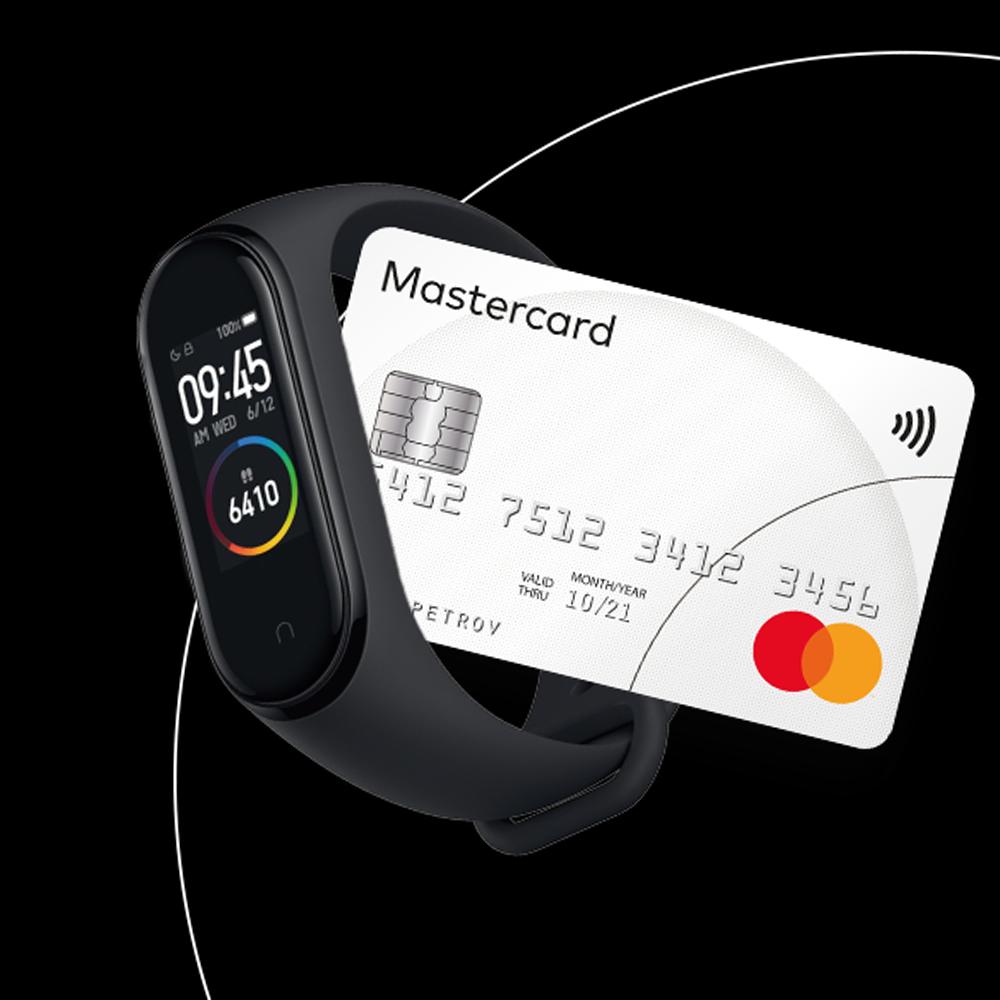 Фитнес-браслет Xiaomi Mi Band 6 NFC mastercard Украина Оригинал! Умные браслеты Android Bluetooth Пылевлагозащищенный корпус Будильник Пульсометр Съемный ремешок Силикон Черный Вибрация Унисекс Пластик До 50 метров AMOLED Проприетарная