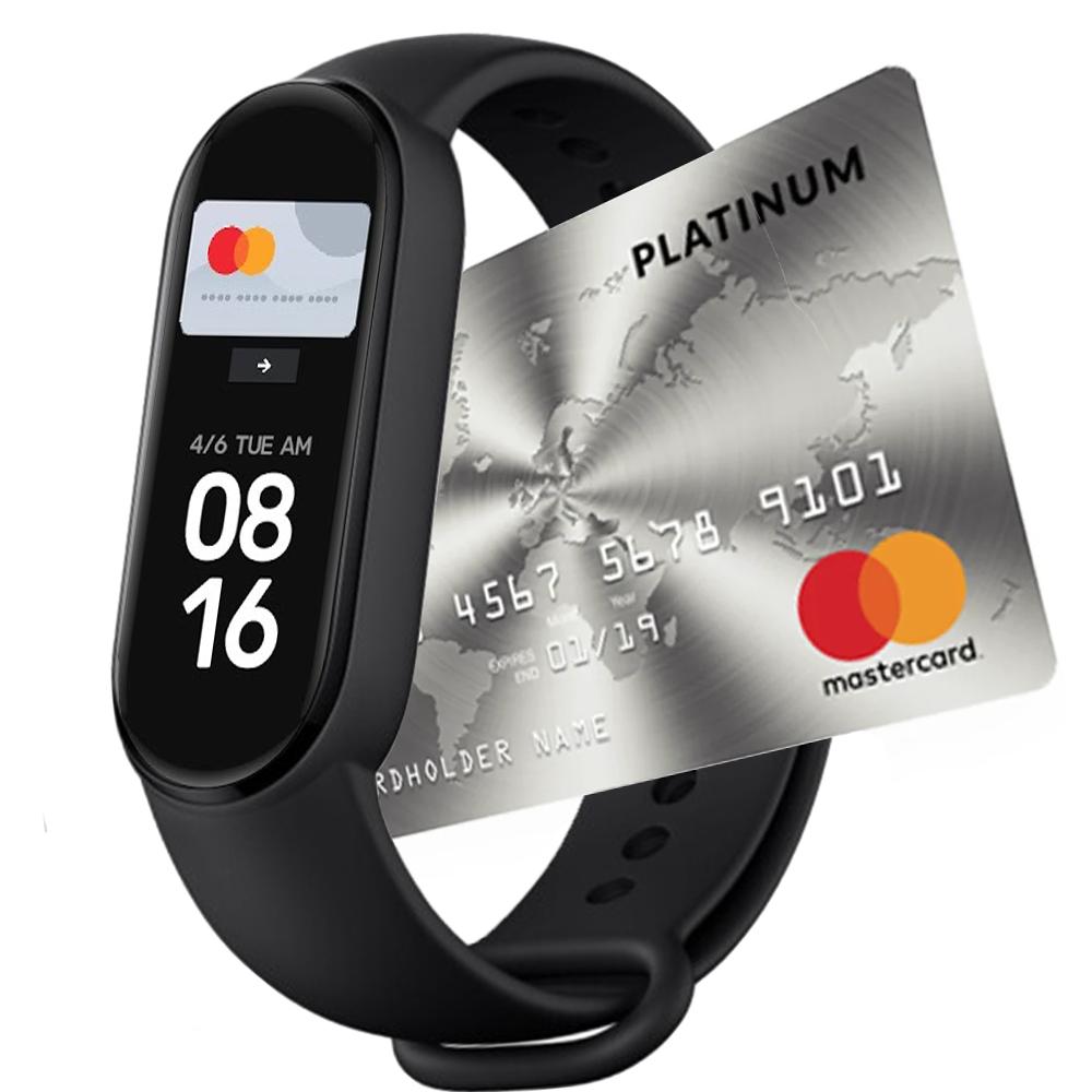 Фитнес-браслет Xiaomi Mi Band 6 NFC mastercard Украина Оригинал! (XMSH16HM / BHR4954GL)