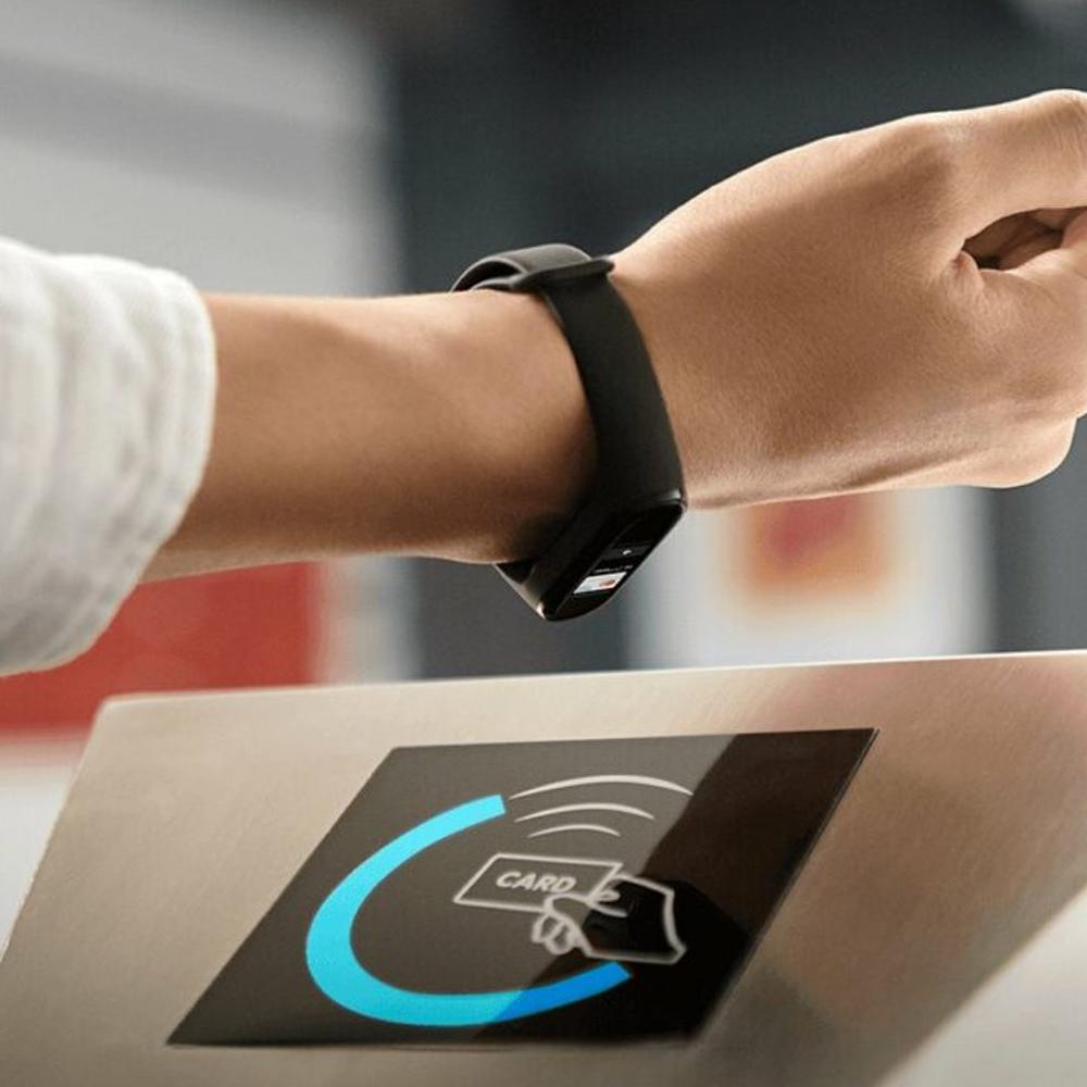 Смарт-часы и фитнес браслеты Xiaomi Mi Band 6 NFC mastercard Украина Оригинал!
