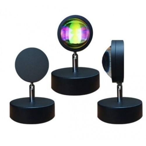 Лампа LED для селфи ефект сонця (16см)