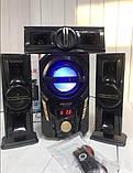 Акустична система з сабвуфером 3.1 Era Ear E-703 60W (Bluetooth, USB flash, SD card, FM-радіо), фото 2