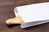 Паперові пакети для упаковки ковбаси 220*80*380 мм крафт пакети для їжі, фото 3