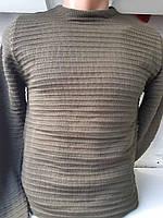 Тонкий светр чоловічий однотонний норма N. Y. R..купити оптом 006