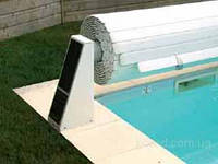 Роллета для бассейна солнечная (двигатель внутри вала)