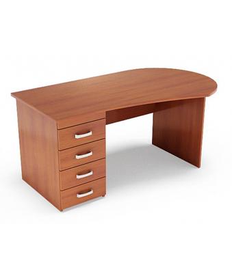 Письменный стол для руководителя М-231 (1600 х 720 x 750)