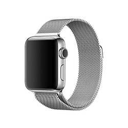 Ремешок для Apple Watch 38mm/40mm Milanese Loop Watch Band Silver