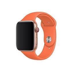 Ремешок для Apple Watch 42mm/44mm Silicone Watch Band Papaya